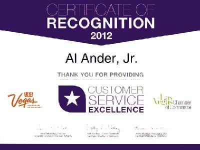 Al Ander Excellence Award