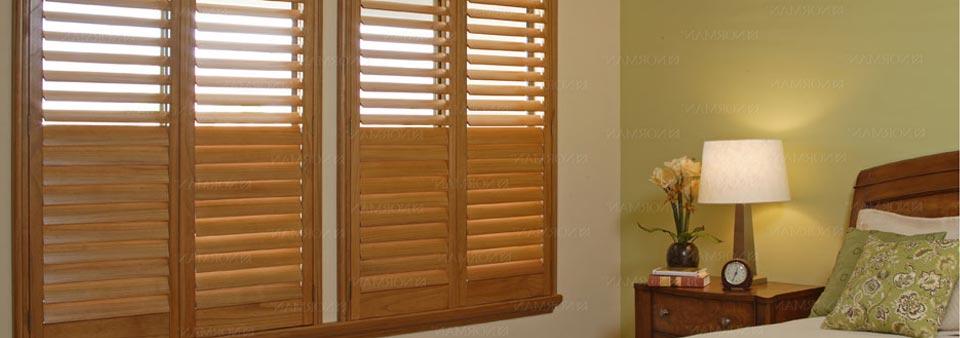 Medium Wood Shutters