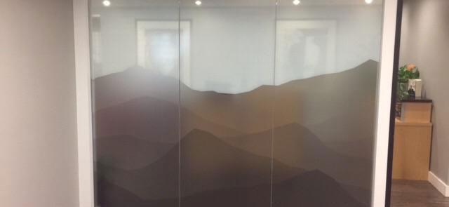 Custom Window Screen Printing